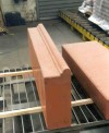 Special designed formwork for block steps